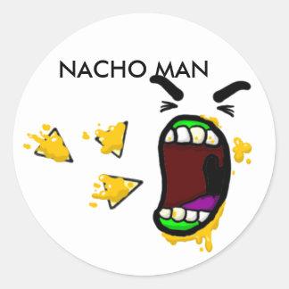 Nacho Man Stickers