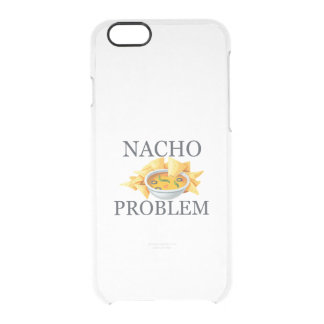 Nacho Problem Clear iPhone 6/6S Case