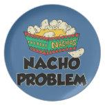 Nacho Problem - Funny Word Play Dinner Plates