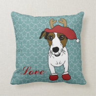 Nacho the Jack Russell Terrier Pillow
