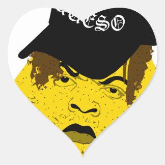nacho witta additude heart sticker