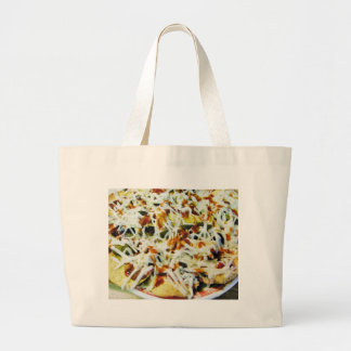 Nachos asados bolsas de mano