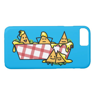 Nachos Melted Cheese Jalapeno Nacho tortilla chips iPhone 7 Case