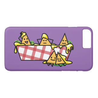 Nachos Melted Cheese Jalapeno Nacho tortilla chips iPhone 7 Plus Case