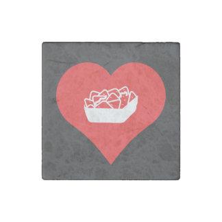 nachos Pictogram Stone Magnet