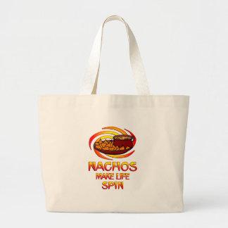 Nachos Spin Canvas Bags