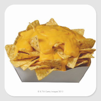 Nachos Square Sticker