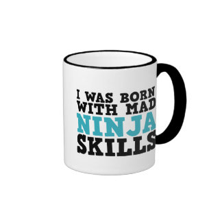Nací con la taza enojada de las habilidades de Nin