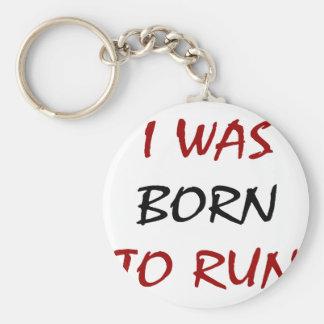 Nací correr llavero redondo tipo pin