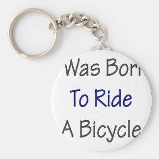 Nací montar una bicicleta llavero redondo tipo pin