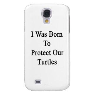 Nací proteger nuestras tortugas funda para galaxy s4