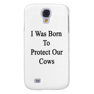 Nací proteger nuestras vacas funda para galaxy s4