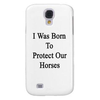 Nací proteger nuestros caballos funda para galaxy s4