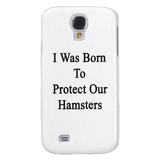 Nací proteger nuestros hámsteres funda para galaxy s4