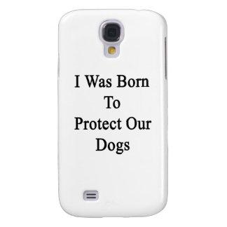 Nací proteger nuestros perros funda para galaxy s4