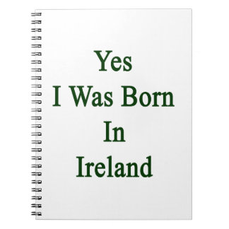 Nací sí en Irlanda Libretas