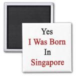 Nací sí en Singapur Iman De Nevera