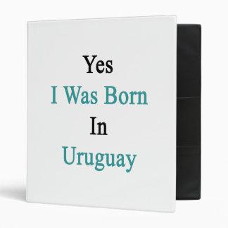 Nací sí en Uruguay