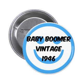 nacido en el baby boom 1946 pins