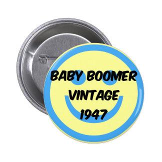 nacido en el baby boom 1947 pins