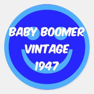 nacido en el baby boom 1947 etiquetas