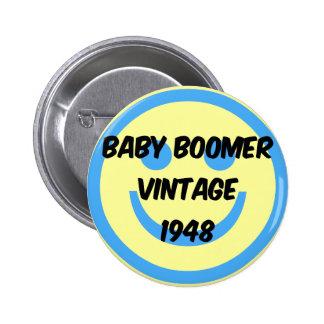 nacido en el baby boom 1948 pin