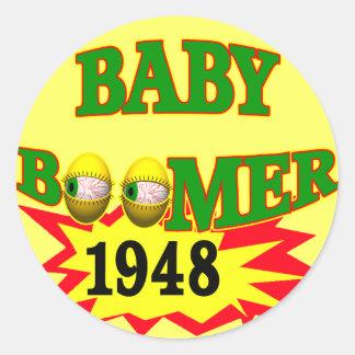 Nacido en el baby boom 1948 etiquetas