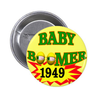 Nacido en el baby boom 1949 pins