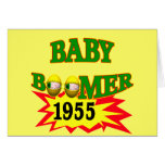 Nacido en el baby boom 1955 felicitación