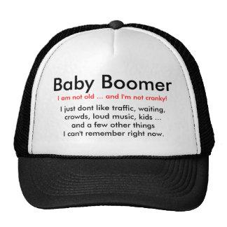 Nacido en el baby boom irritable - gorra
