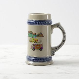 Nacido en el baby boom maravilloso de sensación taza de café