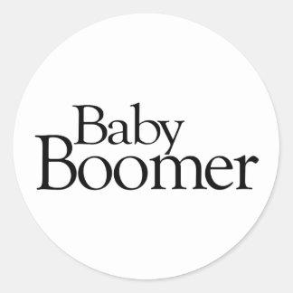 Nacido en el baby boom etiqueta
