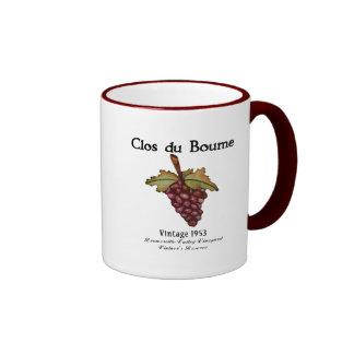 Nacido en el baby boom, vintage 1953 taza de café