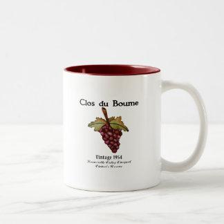 Nacido en el baby boom, vintage 1954 taza de café