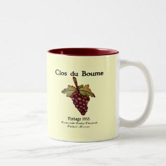 nacido en el baby boom, vintage 1955 taza de café
