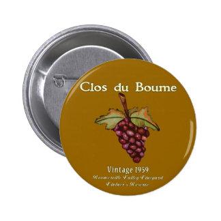 Nacido en el baby boom, vintage 1959 pin redondo 5 cm