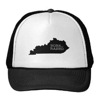 Nacido y aumentado en Kentucky Gorro De Camionero