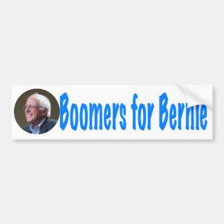Nacidos en el baby-boom para Bernie Pegatina Para Auto