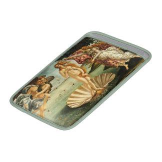 Nacimiento de Botticelli de la pintura del arte Funda Para Macbook Air