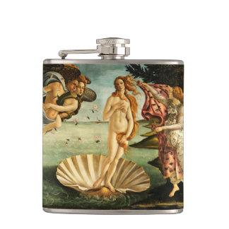 Nacimiento de Botticelli de la pintura del arte Petaca