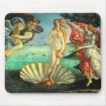 Nacimiento de Botticelli de Venus Alfombrilla De Ratones