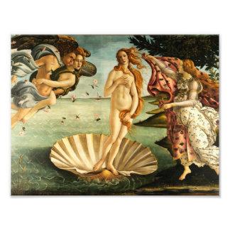 Nacimiento de Botticelli del arte del vintage del Fotografias