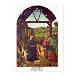 Nacimiento de Cristo de Peter Cristo Tarjetas Postales