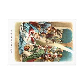 nacimiento de Cristo Lona Envuelta Para Galerías
