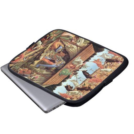 Nacimiento de Cristo por Botticelli, renacimiento  Mangas Portátiles