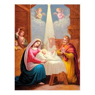 Nacimiento de Cristo Postal