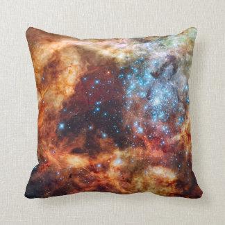 Nacimiento de la almohada cósmica del algodón de cojín decorativo