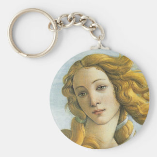 Nacimiento de la bella arte de Venus Botticelli Llavero Redondo Tipo Pin