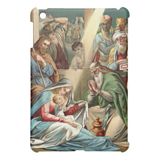 nacimiento de la caja de la mota del ipad de Crist