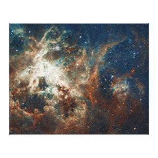 Nacimiento de la estrella en la nebulosa NGC 2070 Impresión En Tela